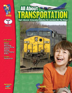 All About Transportation (Enhanced eBook)