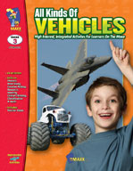 All Kinds of Vehicles (Enhanced eBook)