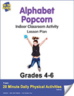 Alphabet Popcorn Lesson Plan (eLesson eBook)