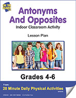 Antonyms And Opposites Lesson Plan (eLesson eBook)