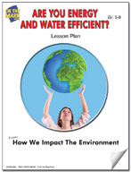 Are You Energy and Water Efficient? Lesson Plan