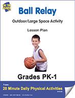 Ball Relay Lesson Plan (eLesson eBook)
