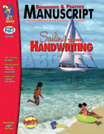 Beginning and Practice Manuscript - Traditional Style (Enhanced eBook)