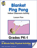 Blanket Ping Pong Lesson Plan (eLesson eBook)