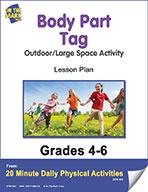 Body Part Tag Lesson Plan (eLesson eBook)