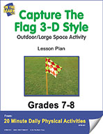 Capture The Flag 3-D Style Lesson Plan (eLesson eBook)