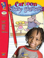 Cartoon Story Starters Gr. 1-3 (Enhanced eBook)