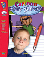 Cartoon Story Starters Gr. 1-6 (Enhanced eBook)