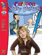 Cartoon Story Starters Gr. 4-6 (Enhanced eBook)