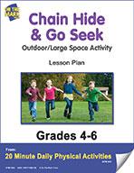 Chain Hide & Go Seek Lesson Plan (eLesson eBook)