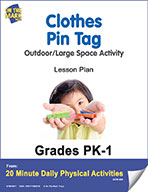 Clothes Pin Tag Lesson Plan (eLesson eBook)