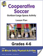 Cooperative Soccer Lesson Plan (eLesson eBook)