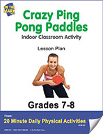 Crazy Ping Pong Paddles Lesson Plan (eLesson eBook)