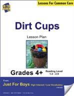 Dirt Cups (Fiction - Social Network Style) Grade Level 2.9 Aligned to Common Core e-lesson plan