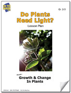 Do Plants Need Light? Lesson Plan