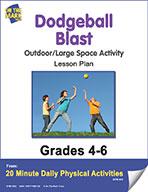 Dodgeball Blast Lesson Plan (eLesson eBook)