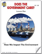 Does the Government Care?  Lesson Plan
