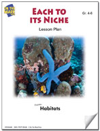 Each to its Niche Lesson Plan