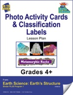 Earth Science - Photo Activity Cards & Classification Labels