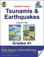 Earth Science - Reading Folder - Tsunamis & Earthquakes