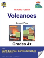 Earth Science - Reading Folder - Volcanoes