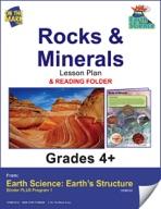 Earth Science - Rocks & Minerals e-lesson plan & Reading Folder