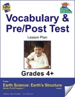 Earth Science - Vocabulary and Pre/Post Test