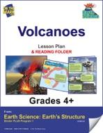 Earth Science - Volcanoes e-lesson plan & Reading Folder