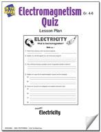 Electromagnetism Quiz Lesson Plan