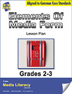 Elements of Media Form Lesson Plan (eBook)