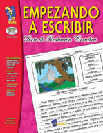 Empezando A Escribir Seire de Redaccion Creativa Spanish Grades 4-6