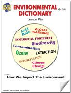 Environmental Dictionary Lesson Plan