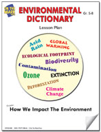 Environmental Dictionary Lesson Plan