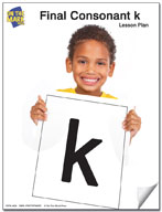 "Final Consonant ""k"" Lesson Five"