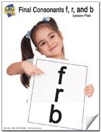 """Final Consonants """"f,r,b"""" Lesson Three"""