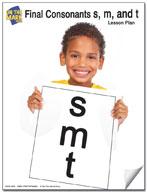 """Final Consonants """"s,m,t"""" Lesson One"""