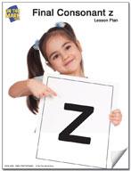 "Final Consonants ""z"" Lesson Seven"