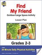 Find My Friend Lesson Plan (eLesson eBook)