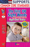 First 100 Sight Words
