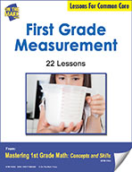 First Grade Measurement Lessons for Common Core (eLesson eBook)