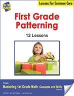 First Grade Patterning Lesson for Common Core (eLesson eBook)