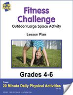 Fitness Challenge Lesson Plan (eLesson eBook)