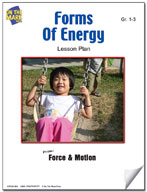 Forms of Energy Lesson Plan