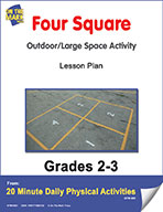 Four Square Lesson Plan (eLesson eBook)
