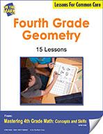 Fourth Grade Geometry Lesson for Common Core (eLesson eBook)