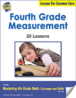 Fourth Grade Measurement Lessons for Common Core (eLesson eBook)