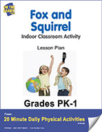 Fox and Squirrel Lesson Plan (eLesson eBook)