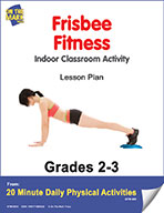 Frisbee Fitness Lesson Plan (eLesson eBook)