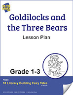 Goldilocks and the Three Bears Aligned to Common Core Gr. 1-3 (elesson plan)