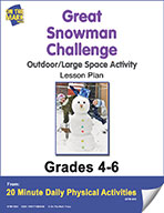 Great Snowman Challenge Lesson Plan (eLesson eBook)